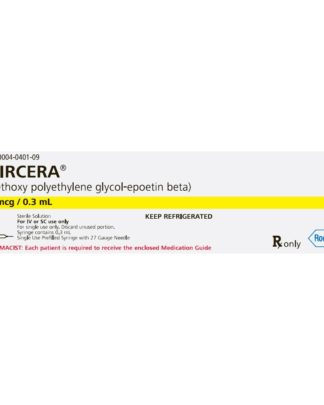 Mircera (Erythropoietin)