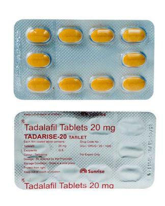 Tadarise 20 [Generic Cialis / Tadalis] (Tadalafil)
