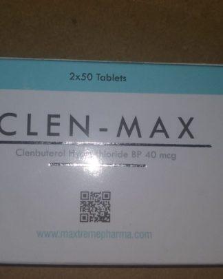 Clen-Max (Clenbuterol HCl) 40mcg